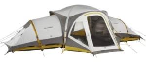 Nieuwe tent van Quechua