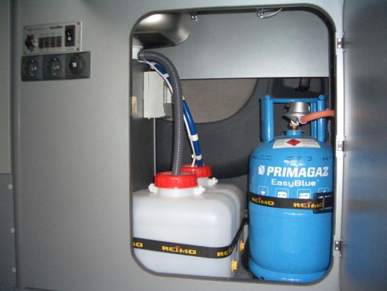 Gasgebruik in en om de camper