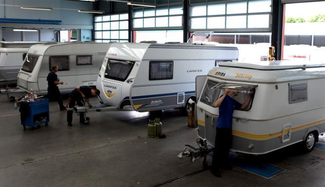 Politie Den Haag controleert caravans: geen boetes