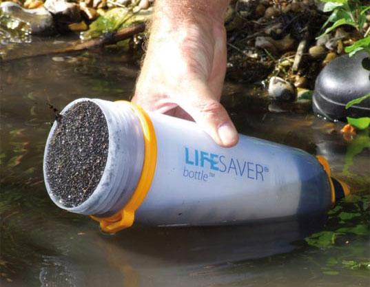 Lifesaver fles