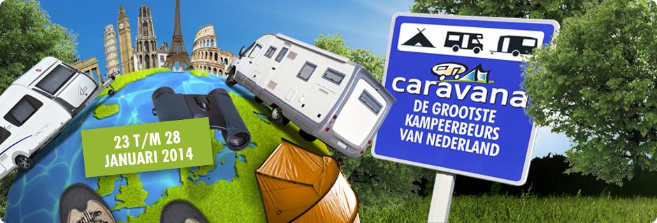 Caravana stevent af op status 'volgeboekte beurs'