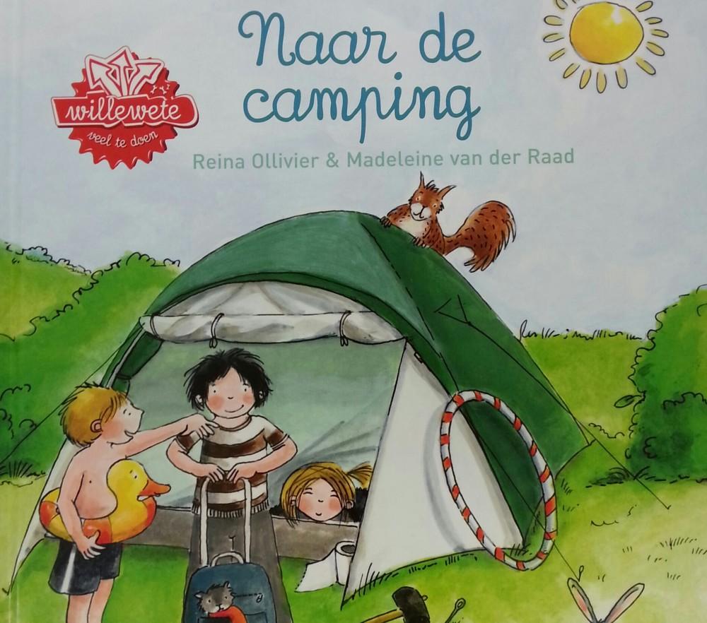 Naar de camping