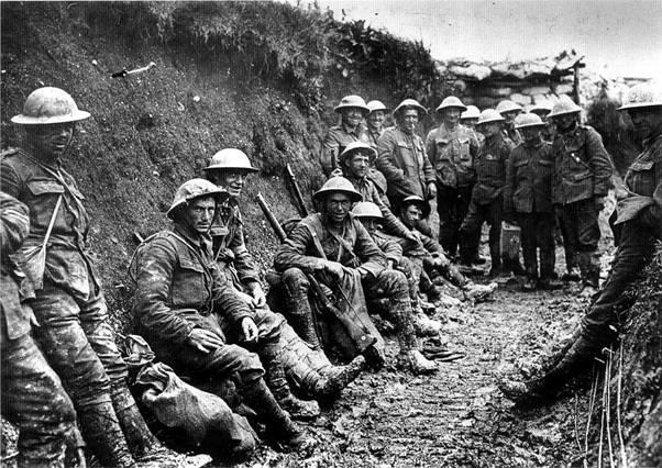Monumenten van de Eerste Wereldoorlog