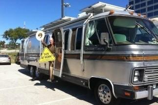 Airstream camper Larry Hagman