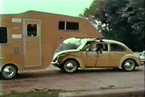 VW kever caravan 1