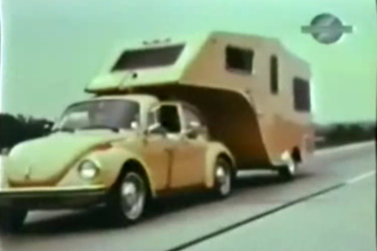 VW kever caravan 2