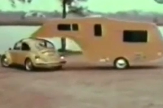 VW kever caravan 3