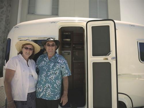 Vintage caravan Oz 2