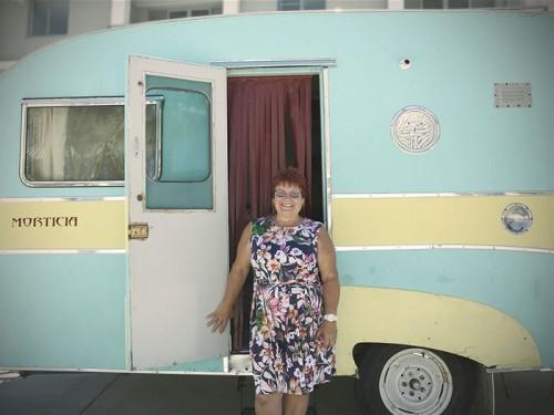 Vintage caravan Oz 3