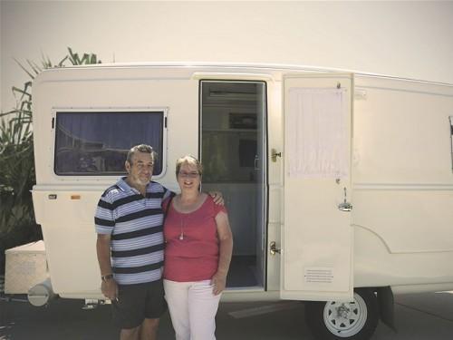 Vintage caravan Oz 5