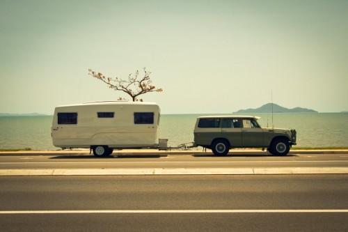 Oldtimer caravan