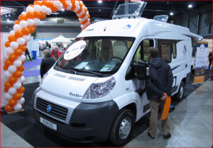 Knaus BoxStar Road 540 uitgeroepen tot NKC Kampeerauto 2014