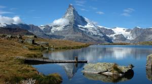 Matterhorn in Zwitserland