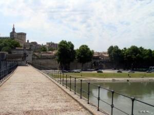 Peter Langereis wandelt in Avignon