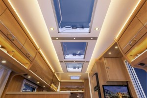 Skyroof in de Dethleffs Camper model 2015