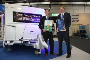 European Design Awards 2014 Hymer en Mercedes