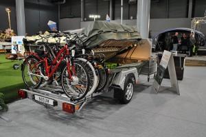 Holtkamper breidt tenttrailer uit met robuuste drager voor e-bikes