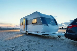 Hobby DeLuxe caravan