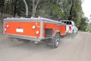 Opus vouwwagen op Caravana