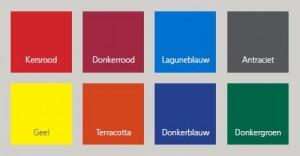Fortex Auronde voortent kleuren