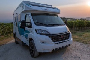 Camper met minimale footprint van Roller Team
