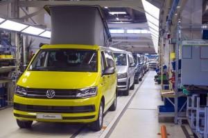 VW California fabriek