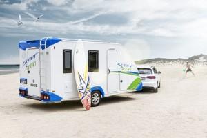 Caravans, campers en kampeerauto's van het jaar gekozen