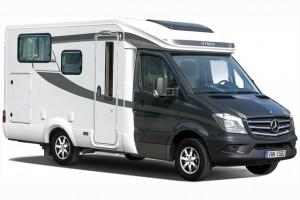 Hymer bouwt vernieuwde Van ook op Mercedes Sprinter
