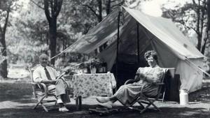 Tentoonstelling ANWB en 75 jaar kamperen