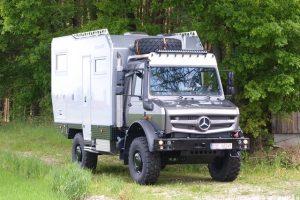 De nieuwe Bimobil EX 435 op Unimog 4023 onderstel