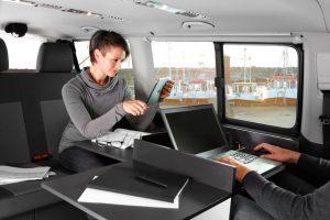 VW Custom-Bus Business: voor camperen én werken
