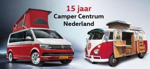 Camper Centrum Nederland 15 jaar