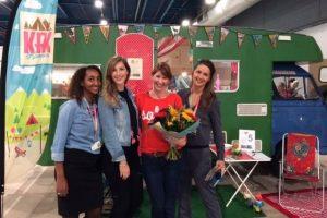 Kampeer & Caravan Jaarbeurs: Janine is winnaar van verkiezing Winnaar Pimpplein
