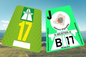 Nieuwe Autobahnvignetten voor Oostenrijk en Zwitserland