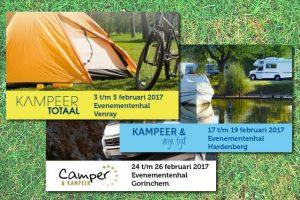 Evenementenhal organiseert in februari 3 kampeerbeurzen
