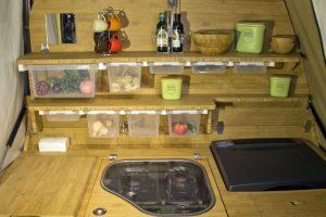 Holtkamper keuken vouwwagen