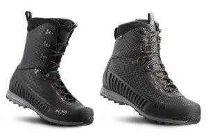 Innovatieve, lichtgewicht trekkingschoenen van Alfa