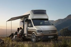 Volkswagen California in XXL formaat op basis van nieuwe Crafter