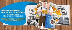 Oktoberfest 2017 in Erwin Hymer World