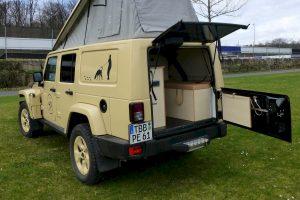 Behl Jeep Wrangler Unlimited camper