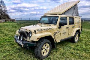 Camperen met de Jeep Wrangler Unlimited