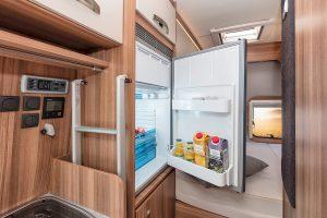 Weinsberg Fire Edition Carabus koelkast interieur