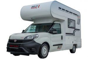 Mini-alkoof camper van Bela Wohnmobile op CMT