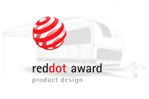 Red Dot Award campers en caravans
