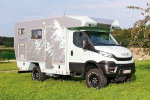 Bimobils nieuwste aanwinst: EX 412 op verlengd Iveco chassis