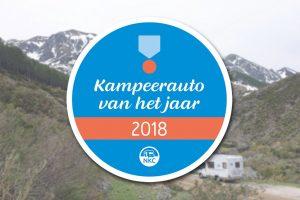 Kampeerauto van het jaar 2018