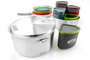 Nieuwe lichtgewicht servies- en kookset van GSI Outdoors
