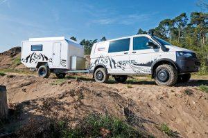 Volker Lapp's offroad caravan nu ook te koop