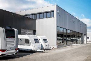 Knaus Tabbert opent nieuw aflevercentrum in Jandelsbrunn
