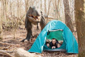 Vadernacht in het Dinopark Amersfoort